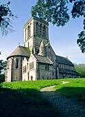 The Victorian parish church of St James in the village of Kingston, Dorset, England