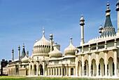 Brighton Royal Pavilion built 1822 for King George IV Designed by John Nash East Sussex, England