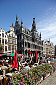 Grand Place - Brussels City Museum and restaurant, Brussels, Flanders, Belgium