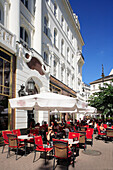 Gerbeaud coffee shop in Voeroesmarty Square, Budapest, Hungary