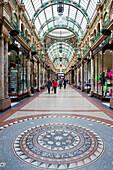Victoria Quarter shopping arcade, Leeds, Yorkshire, UK - England