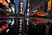 Times Square at hight, Manhatan, New York City, New York, USA, North America, America