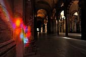 Bunte Spiegelung, Mezquita-Catedral, Cordoba, Provinz Cordoba, Andalusien, Spanien, Mediterrane Länder