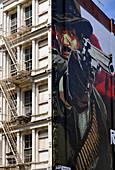 Tribeca, Fire Escape, New York City, New York, USA, North America, America