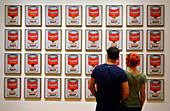 Museum of Modern Art, MoMa, Andy Warhole, Campbells Soup, MAnhattan, New York City, New York, USA, North America, America
