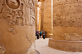 Great Hypostyle Hall, Karnak Temple Komplex, Luxor, ancient Thebes, Egypt, Africa