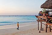 Beach in Nungwi, Zanzibar, Tanzania, Africa