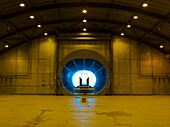 Jet Engine Testing Tunnel, UK, Suffolk, Woodbridge