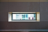 Office Buildings Seen Through Window, Phoenix, Arizona, USA
