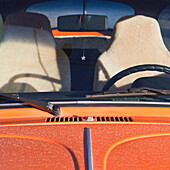 Car Hood, Windshield, and Front Seats, Seattle, Washington, USA