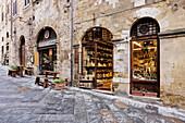 Italian Delicatessen or Macelleria, San Gimignano