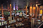 Casino at Hotel New York New York on the Strip, Las Vegas, Nevada, USA, America