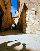 Lane Calle Alto, old town, Baeza, Andalusia, Spain