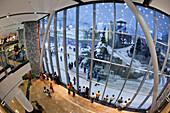 Dubai Mall of Emirates Ski dubai, Indoor skiing, United Arab Emirates, Arabian Peninsula, Middle East, Asia