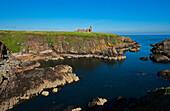 Slains Castle nahe Cruden Bay, Aberdeenshire, Schottland