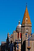 das historische Zentrum von Fraserburgh, Aberdeenshire, Schottland