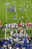 American Football Game, Kentucky Wildcats against Georgia Bulldogs, College team, Lexington, Kentucky, United States of America, USA