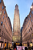 Empire State Building, view from the side, 381 m,  architectural office Shreve Lamb and Harmon, New York City, United States of America, USA
