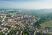 Cityscape, Freiburg im Breisgau, Baden-Wurttemberg, Germany