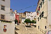 Staircase, Alfama, Lisbon, Portugal