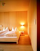 Double room, Hotel Post Bezau, Bregenz, Vorarlberg, Austria