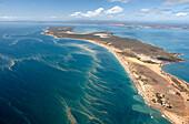Gladstone peninsula during the coral spawning period, aerial photo, Gladstone, Queensland, Australia