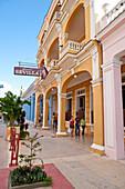 Außenansicht von Hotel Sevilla, Ciego de Avila, Kuba, Karibik