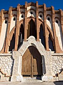 Art nouveau cooperative winery by architect Cesar Martinell, Nulles. Alt Camp, Tarragona province, Catalonia, Spain