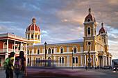 Cathedral, Parque Colon (aka Central Park), Granada, Nicaragua