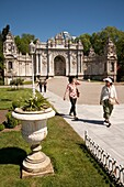 Sultan's Gate, also known as the Royal and Imperial Gate, Dolmabahce Palace, Istanbul, Turkey