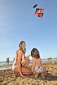 Beach, Holiday, Italia, Lignano, Pineta, Sabbiadoro, Summer, Travel, Udine, XJ9-1037024, agefotostock