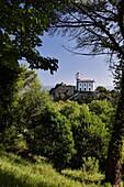 Lighthouse of San Anton, Getaria, Guipuzcoa, Basque Country, Spain