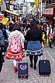 Takeshita-dori street, teen fashion and culture area