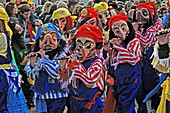 Fasnacht, Basel's traditional carnival, Swtzerland