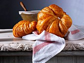Butter Croissants French Traditional