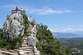Belvedere Or the Kaiser's Throne, Built By Wilhelm Ii, Pelekas, Corfu, Greece