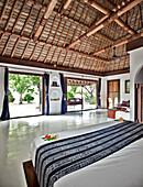 Tropic Island Hotel Room, Yaqeta Island, Fiji