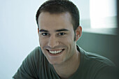Man smiling at camera, portrait