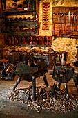 Old-Fashioned Cobbler's Workshop