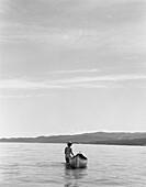 Nude With Canoe
