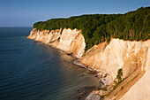 Chalk cliffs, Ruegen island, Jasmund National Park, Baltic Sea, Mecklenburg-West Pomerania, Germany