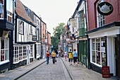 England,Lincolnshire,Lincoln,Shops in Steep Hill