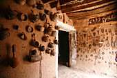 Africa, Maghreb, North africa,Morocco, Guelmim (Goulimine),  Tighmert kasbah, museum