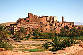 Africa, Maghreb, North africa, Morocco, province of Ouarzazate,  Tifoultoute kasbah and village