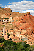 Africa, Maghreb, North africa, Morocco, Dades gorges, village of Ait Ibrirne (upstream from Boumalne Dades )