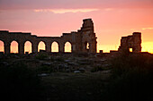 Africa, Maghreb, North africa, Morocco, Moulay Idriss (Meknes area), antique site of Volubilis (Unesco world Heritage)