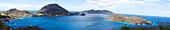 West Indies, Guadeloupe, Saintes archipelago, general view