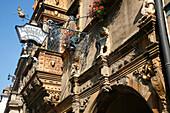 France, Alsace, Haut-Rhin, Colmar, Tets street, Tetes house (17th century)