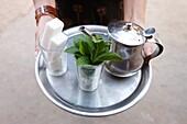 Maroc, Agadir, Mint tea