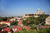 Hungary, Esztergom, general panoramic view, Basilica